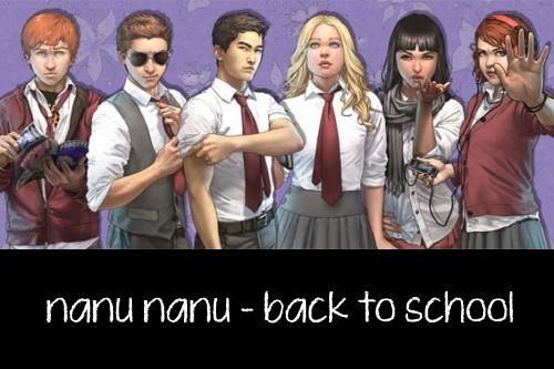 Back to School Comics