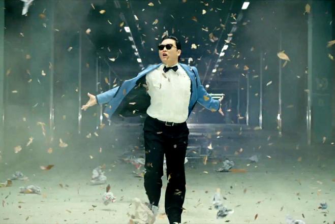 """Still from """"Gangnam Style"""""""